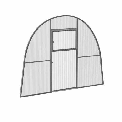 Перегородка с дверью для теплиц ФАЗЕНДА