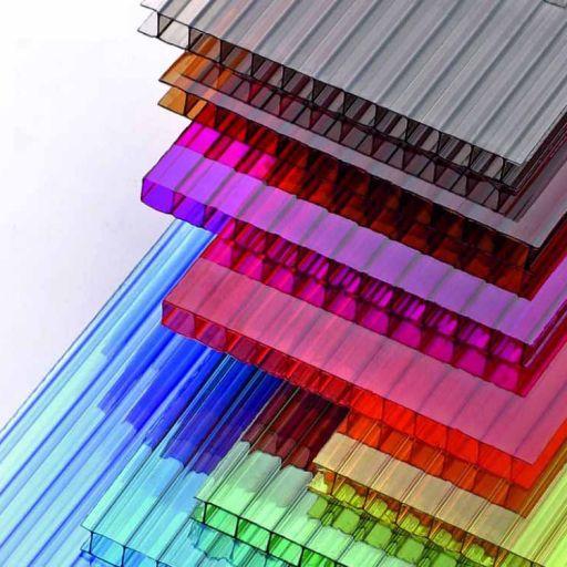 Цветной сотовый поликарбонат 6мм