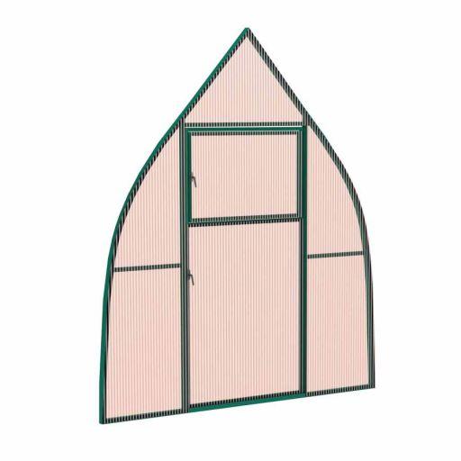 Перегородка с дверью для теплиц КУПОЛ