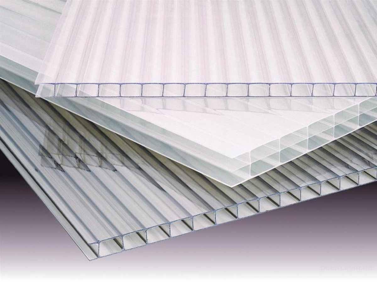 поликарбонат сотовый 4 мм прозрачный для теплиц